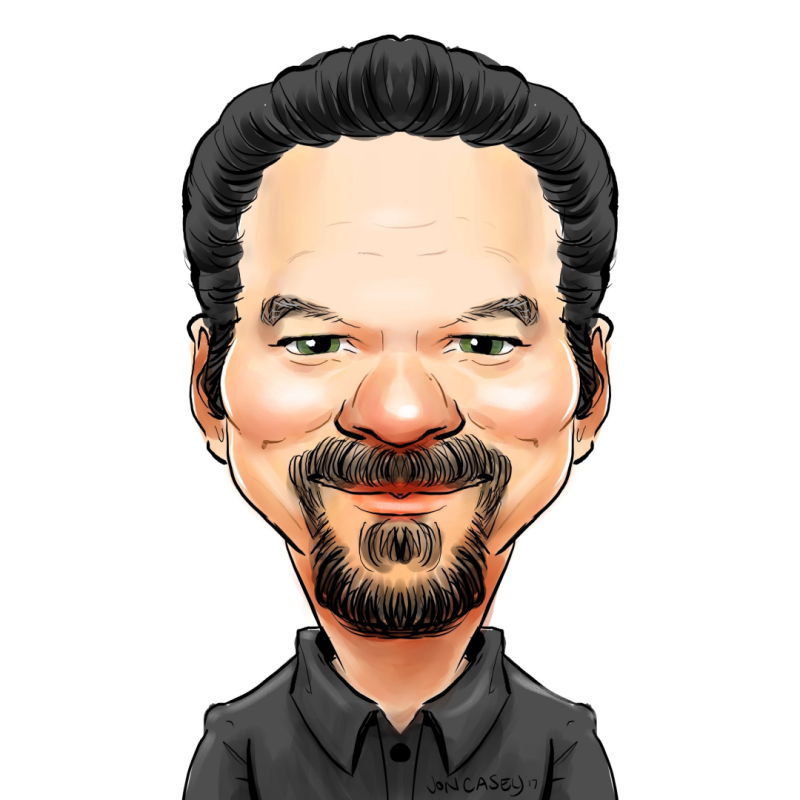 Rector Profile Caricature 1080